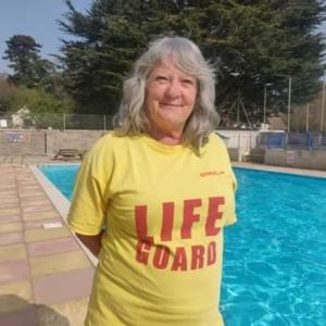 Senior Lifeguard Takes on Monumental Challenge
